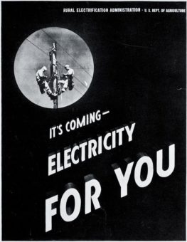 Its coming - electricity for you